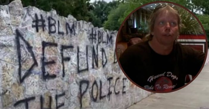 bill stanley elvis presleys step brother BLM graffiti graceland