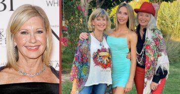 chloe lattanzi honors olivia newton-john for 72nd birthday