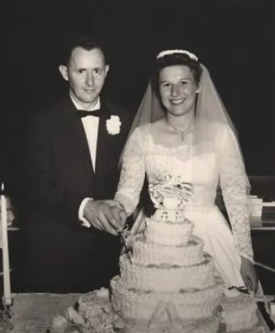 Couple Celebrates 60th Anniversary By Doing Photoshoot In Original Wedding Attire