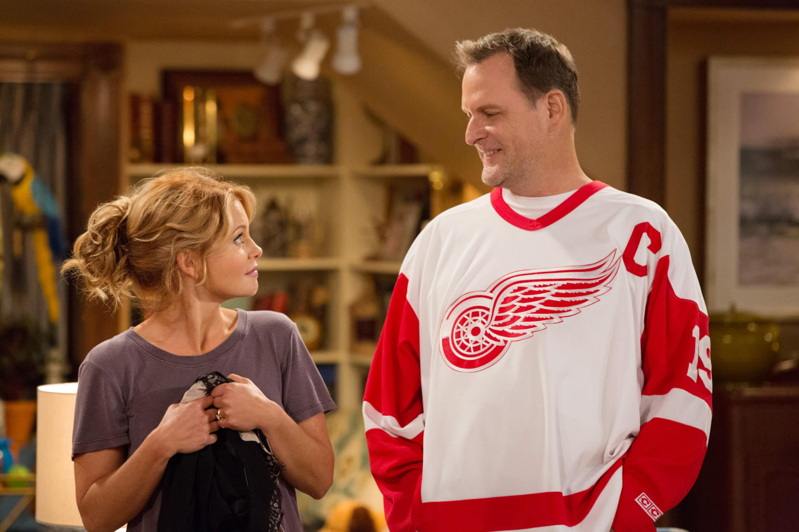 Candace Cameron Burè, Dave Coulier in 'Fuller House'