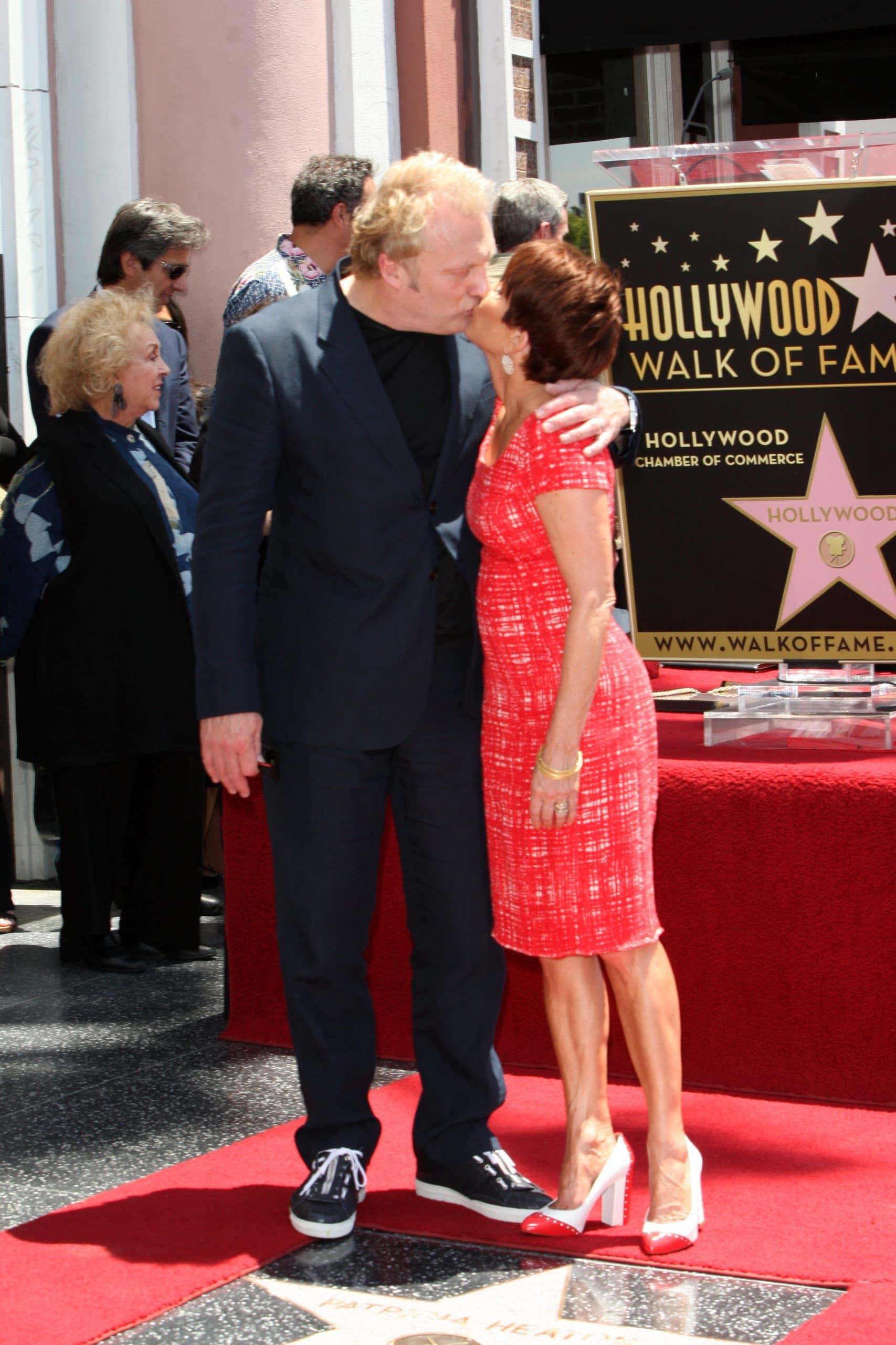 david hunt patricia heaton hollywood walk of fame