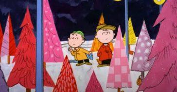 did charlie brown christmas end the aluminum christmas tree fad_