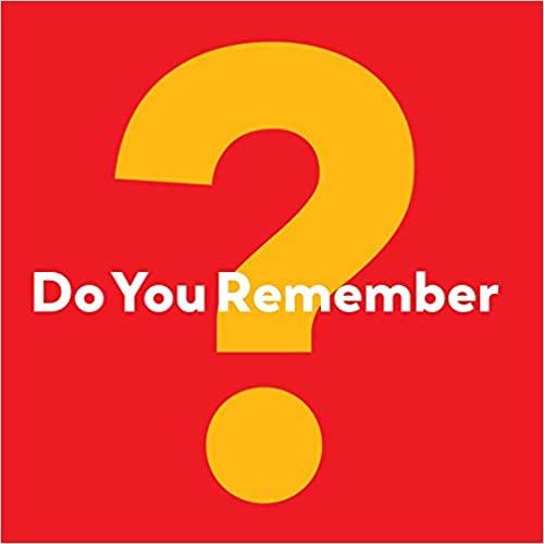 do you remember book
