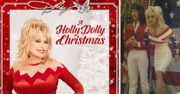dolly parton duet with brother on christmas album