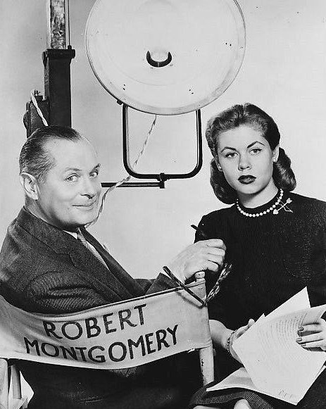 elizabeth-montgomery-and-father-robert-montgomery
