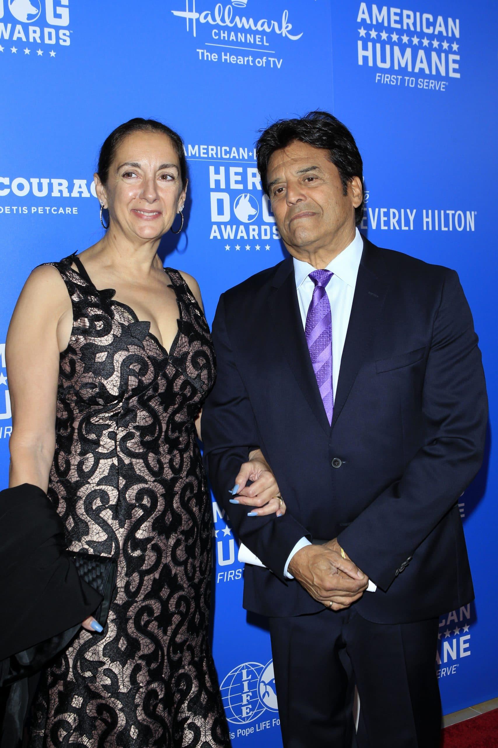 Erik Estrada and wife Nanette Mirkovich