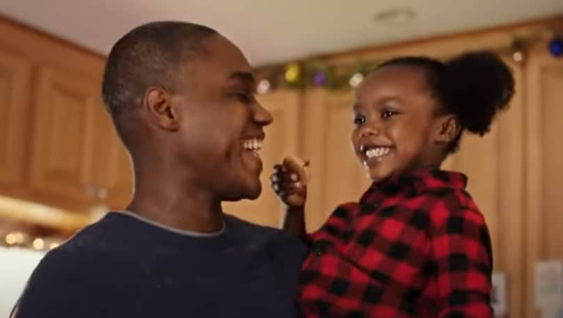 father and daughter hersheys ad