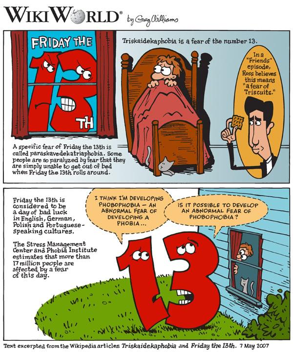 friday the 13th phobia