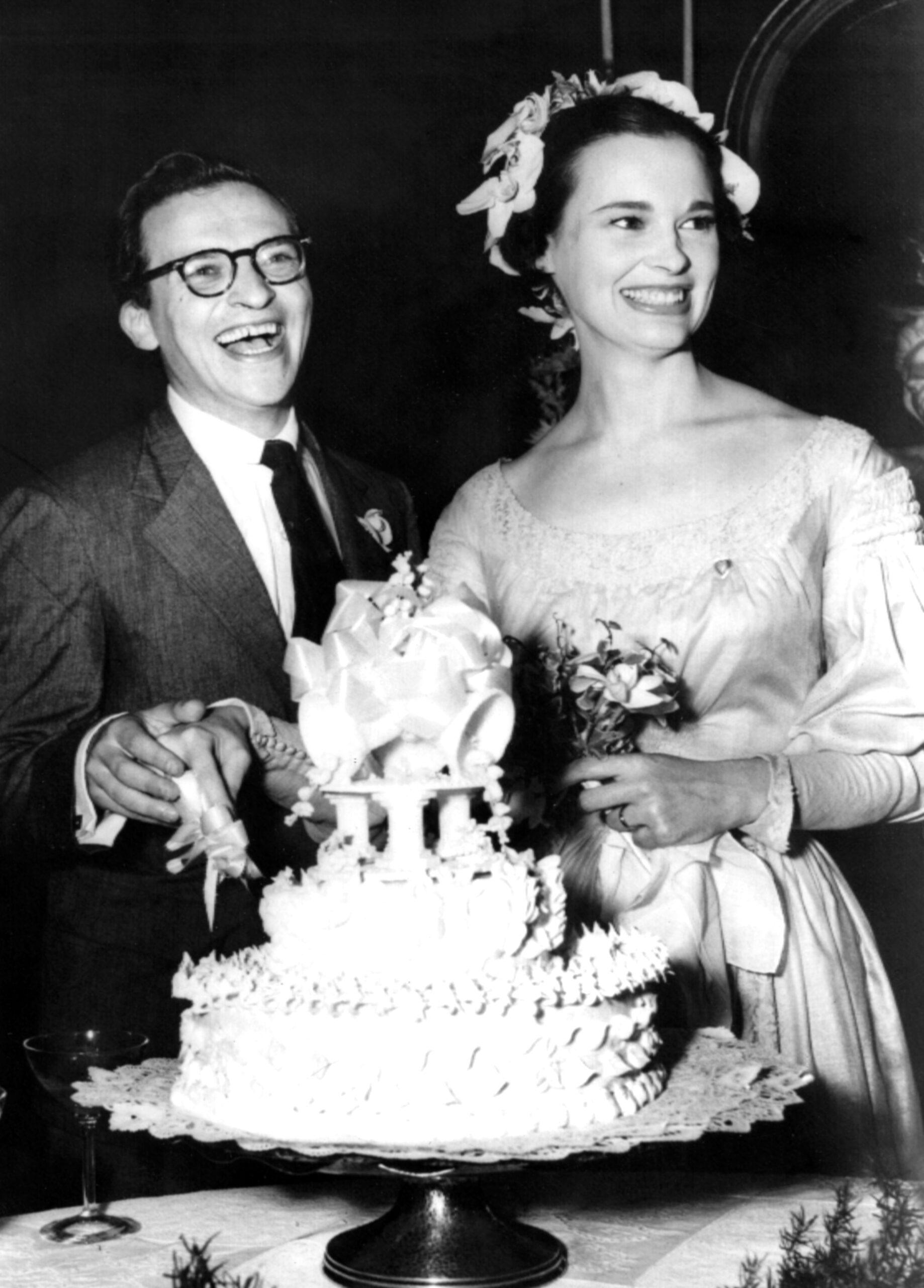 Gloria Vanderbilt Sidney Lumet wedding