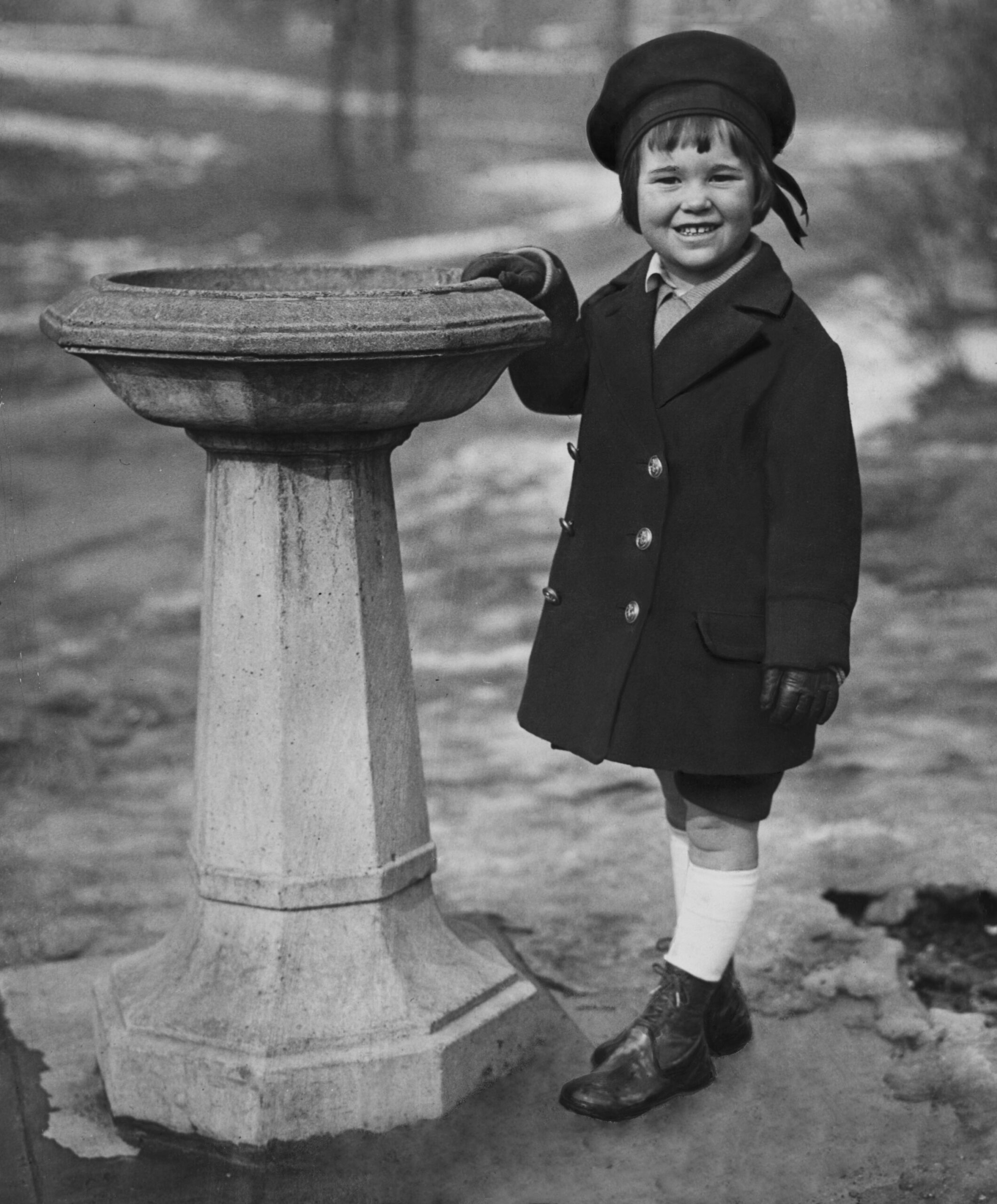 Gloria Vanderbilt Age 4