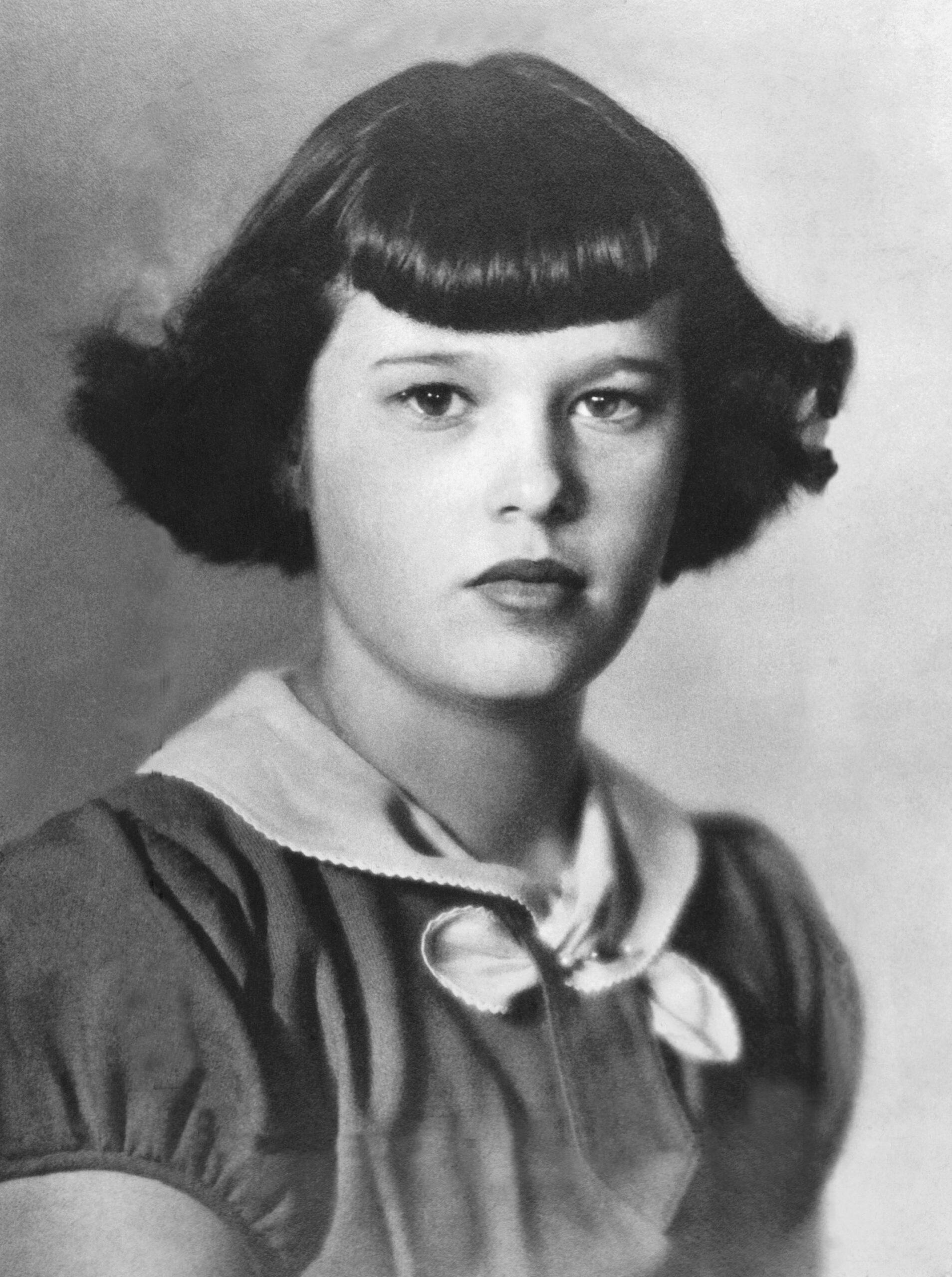 Gloria Vanderbilt age 13