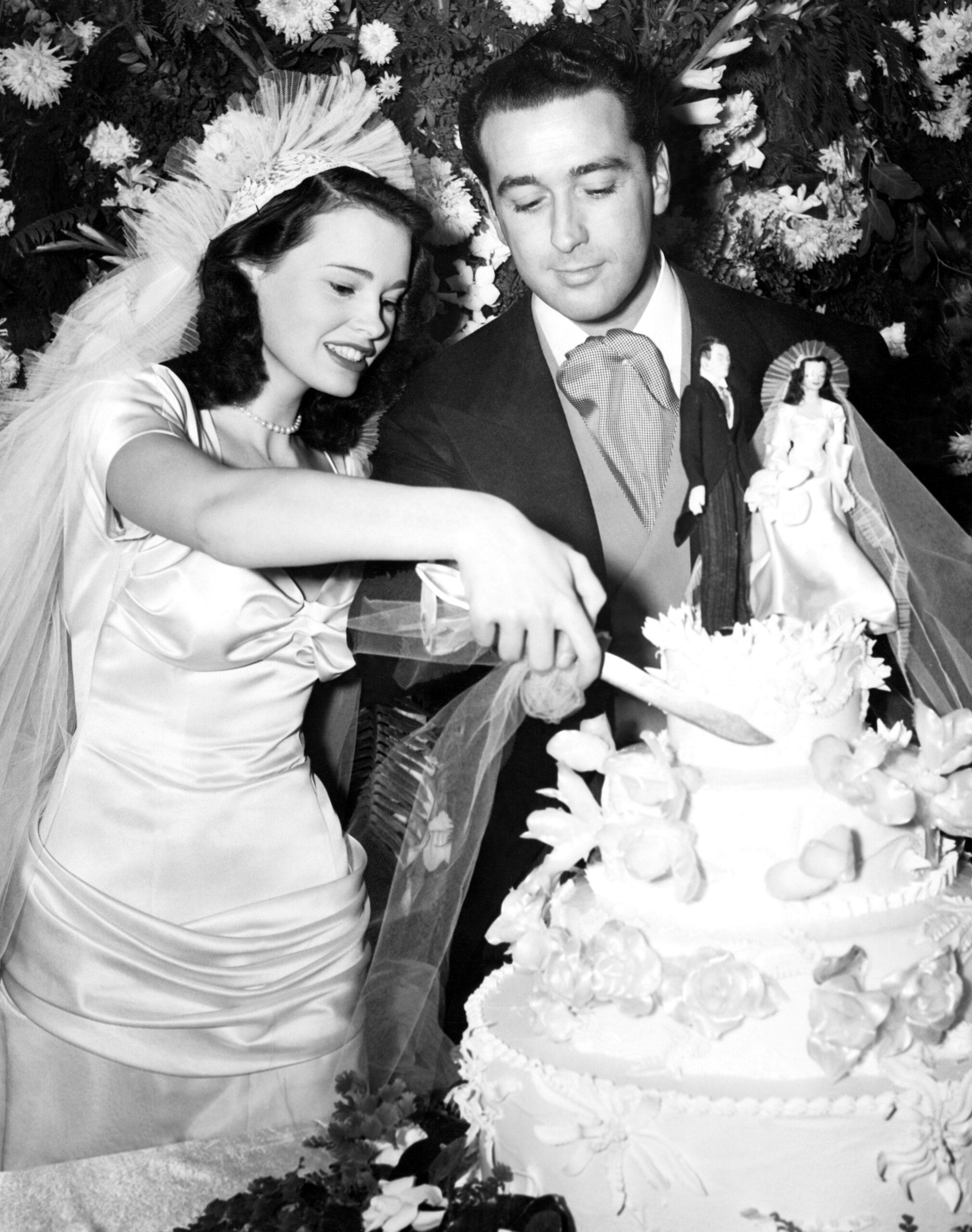 Gloria Vanderbilt Pasquale DiCiccio wedding