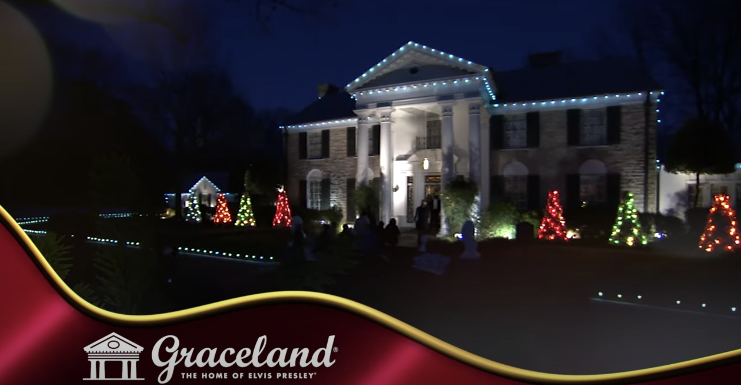 Check Out This New Sneak Peek Video Of A Graceland Christmas