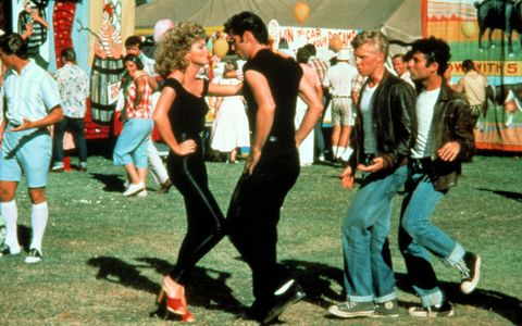 danny and sandy ending of grease