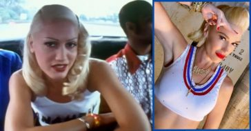 gwen stefani recreates no doubt look