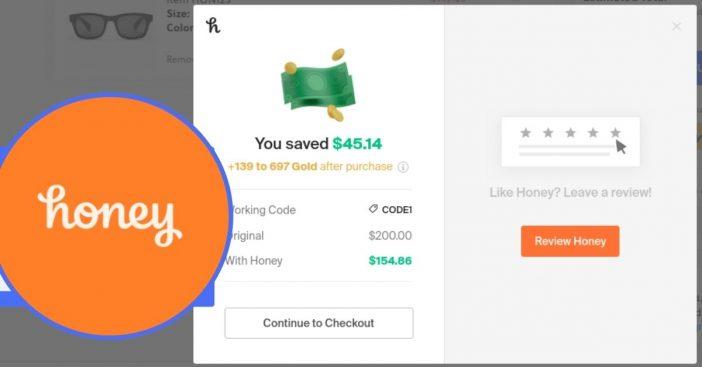 honey money saving tool during the holidays