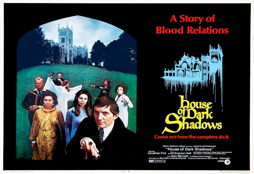 'House of Dark Shadows' movie poster