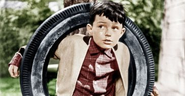 jerry mathers tv debut before the beaver