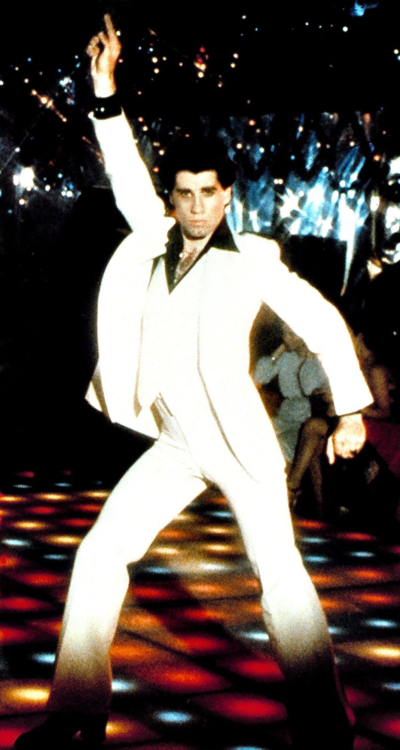 disco finger john travolta saturday night fever
