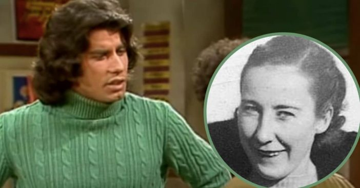 john travolta's mom didn't want him to play vinnie barbarino