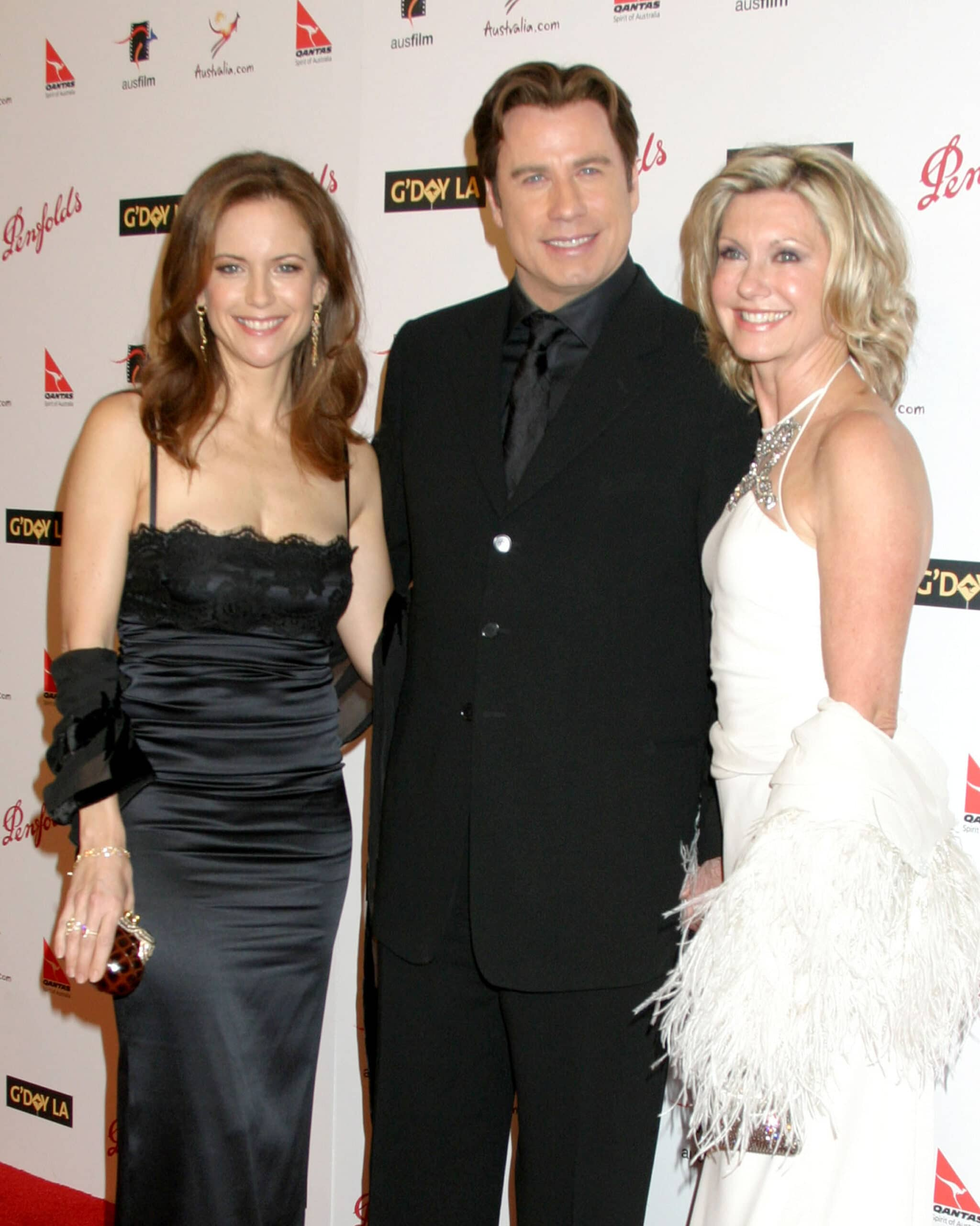 kelly preston john travolta olivia newton john