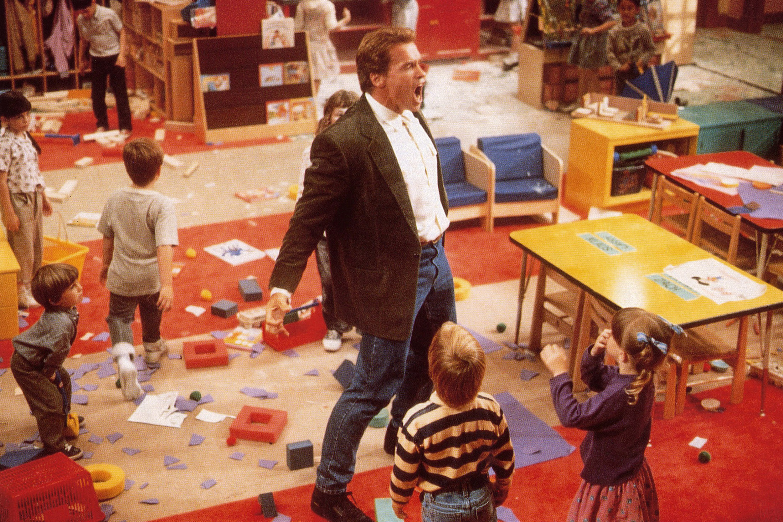 KINDERGARTEN COP, Arnold Schwarzenegger