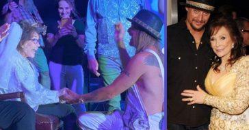 loretta lynn marries kid rock in joke