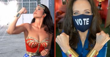 lynda carter wonder woman bracelets photo