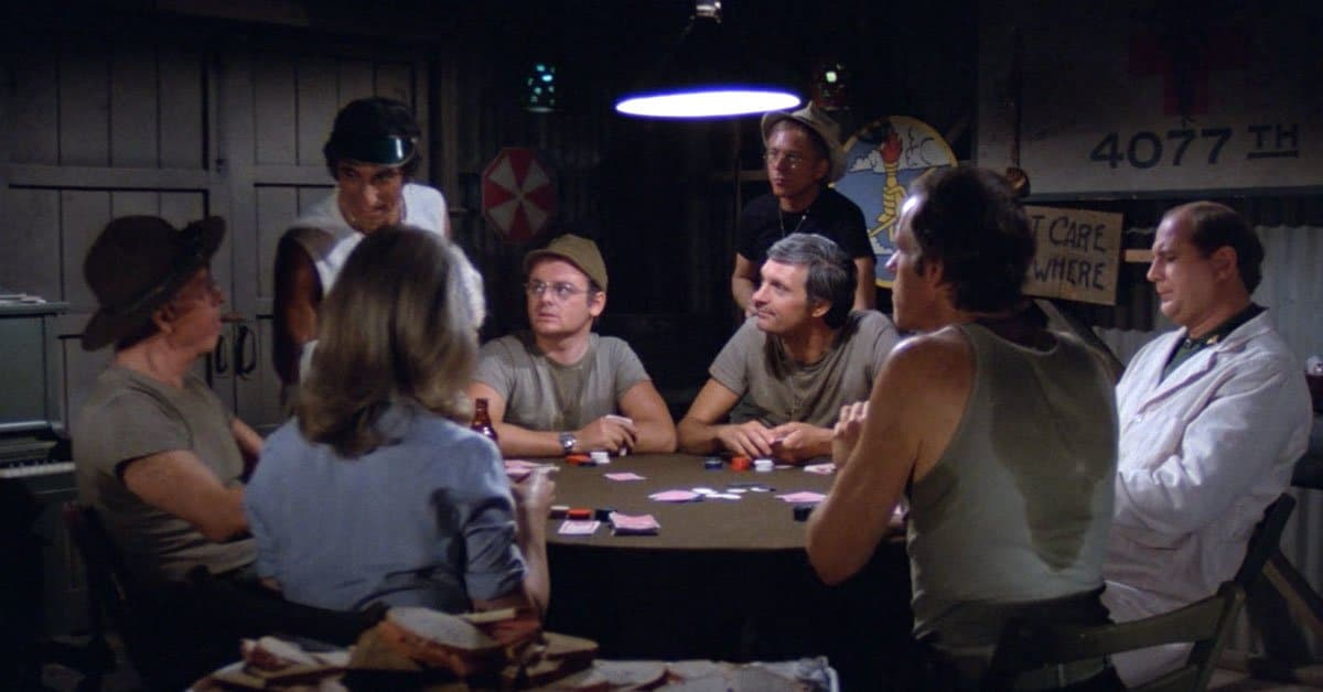 This Poker Episode In 'M*A*S*H' Was A Nightmare For The Show Writers