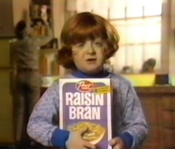 mason reese raisin bran commercial