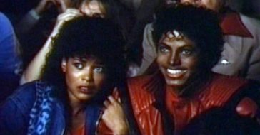 michael jackson thriller girlfriend