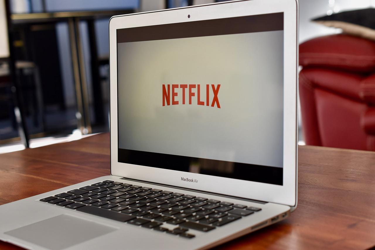 Netflix Playing On A Laptop