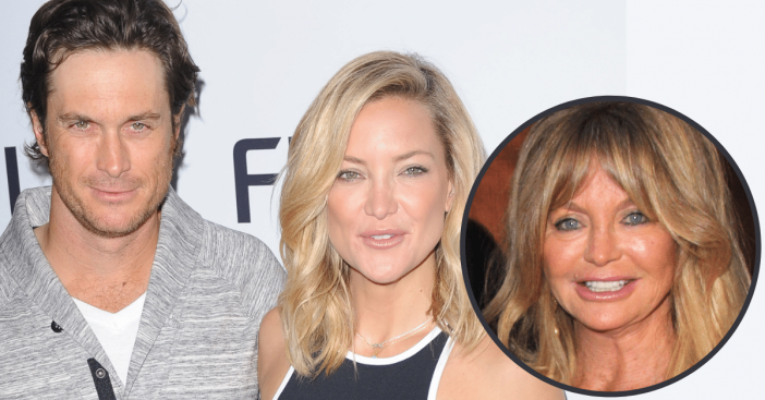 oliver and kate hudson embarrassing memory with mom goldie hawn