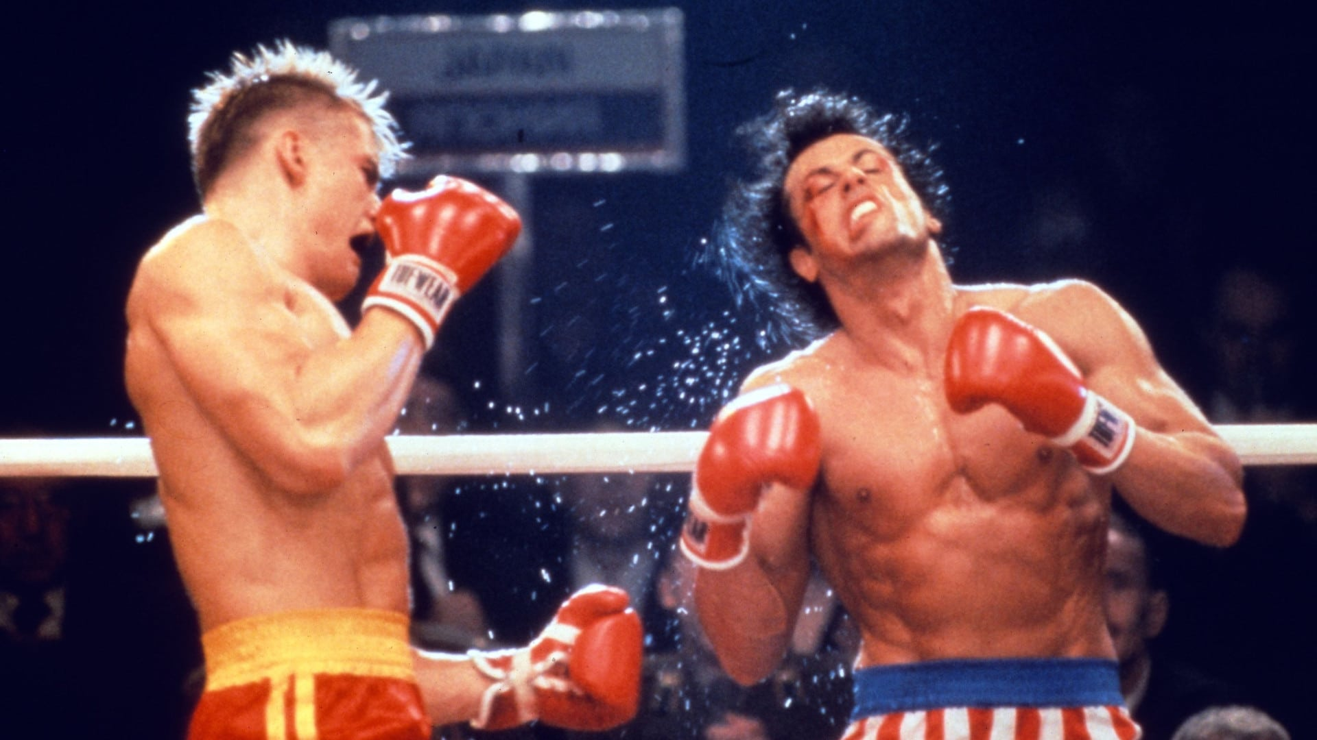 rocky iv fight scene
