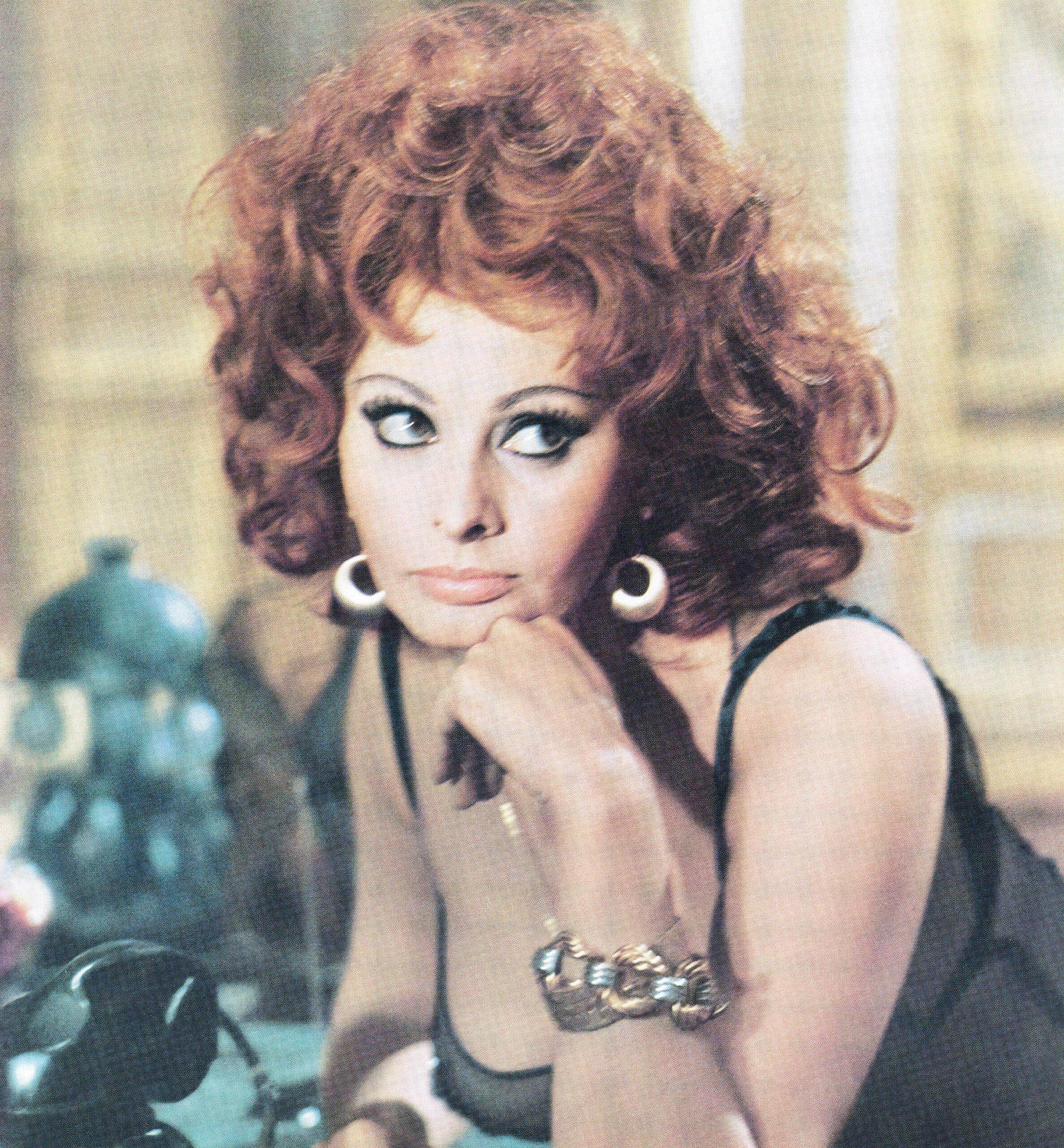 sophia loren in the 1960s