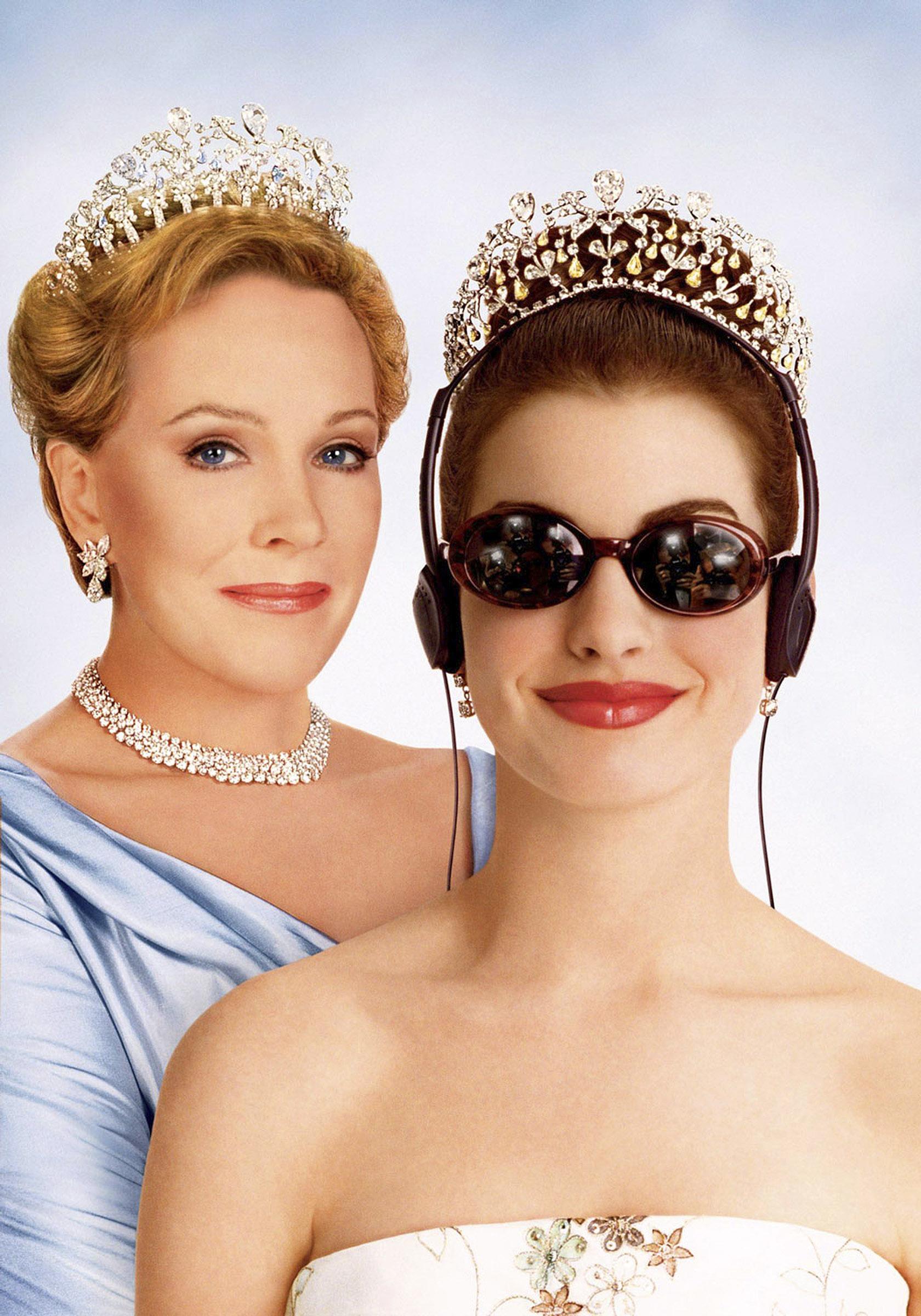 the princess diaries julie andrews anne hathaway