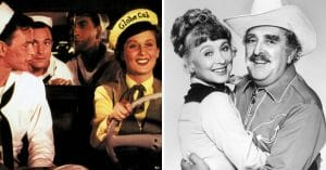 Betty Garrett before and after Laverne & Shirley