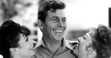 Betty Lynn had a big crush on Andy Griffith