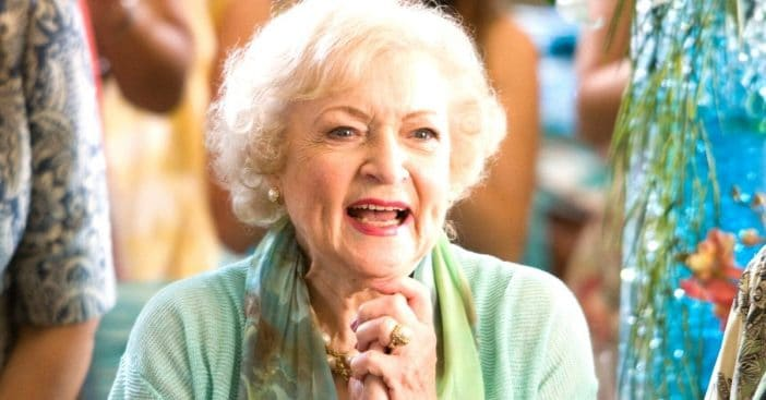 Betty White is turning 99