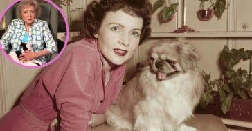 Betty White promotes 'Pet Set'
