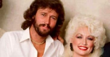 Dolly Parton and Barry Gibb sing this classic Bee Gees song
