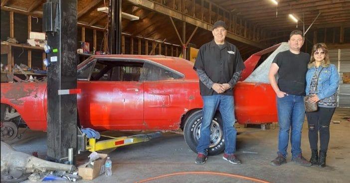Ibe Texas garage had something big hidden away