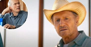Is Liam Neeson taking roles from Clint Eastwood