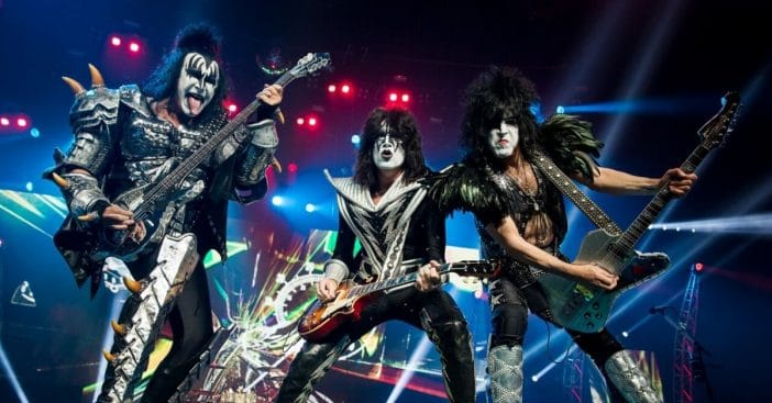 KISS sets two new world records with livestream show