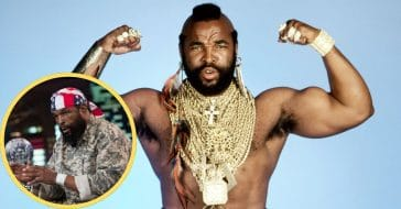 Mr. T then and now