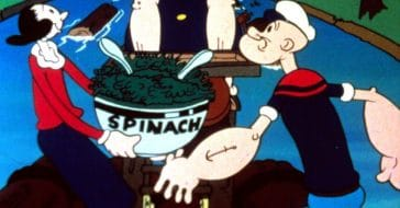 Popeye and Olive Oyl voice actors fell in love