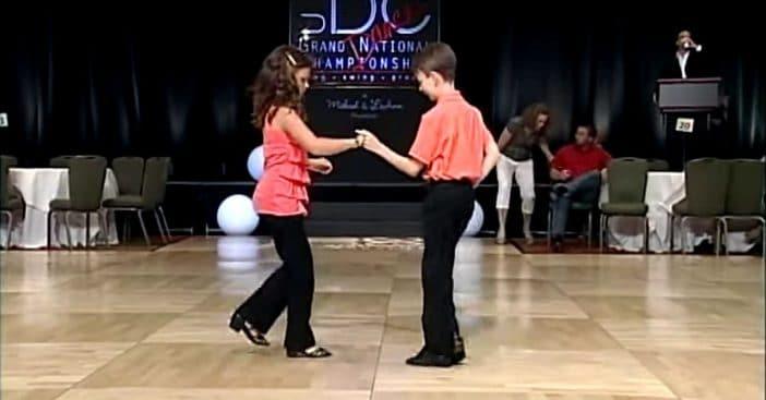 Shag swing dancing enjoys popularity again