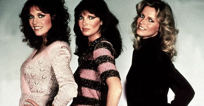 Tanya Roberts, Jaclyn Smith, and Cheryl Ladd on 'Charlie's Angels'
