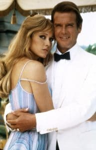 Tanya Roberts and Roger Moore in A View to Kill