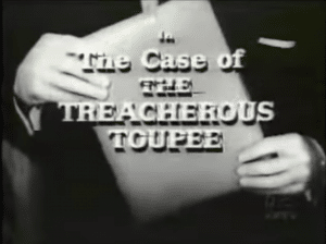 The Perry Mason opening credits went through a transformation in season three